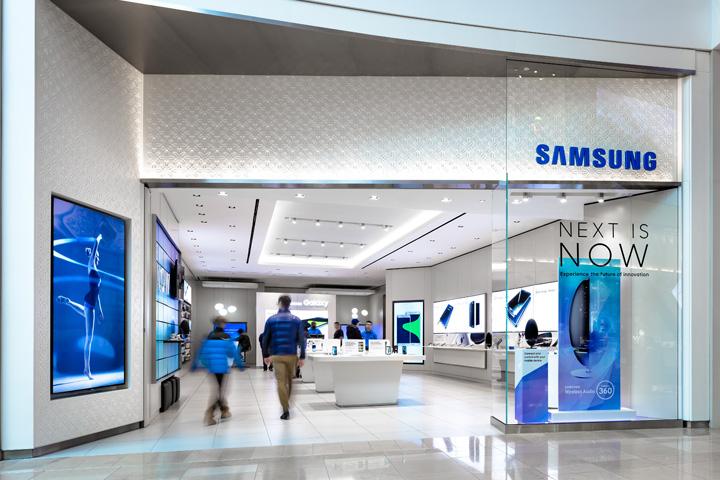 Samsung store at Sherway Gardens by Cutler, Toronto